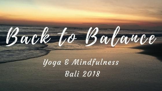 Bali 2018 Retreat Healthylifebalance