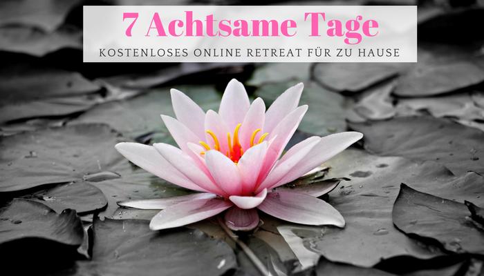 Newsletter Online Retreat Healthylifebalance