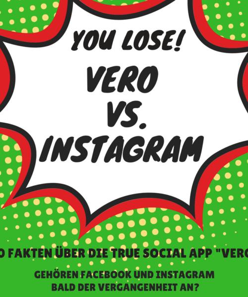 Vero vs. Instagram