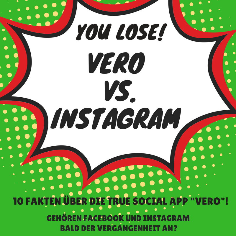 Vero vs. Instagram