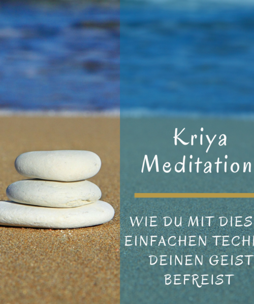 Kriya Meditation Healthylifebalance