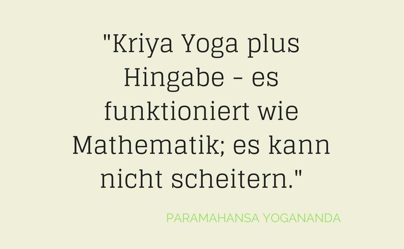 Kriya Yoga Healthylifebalance