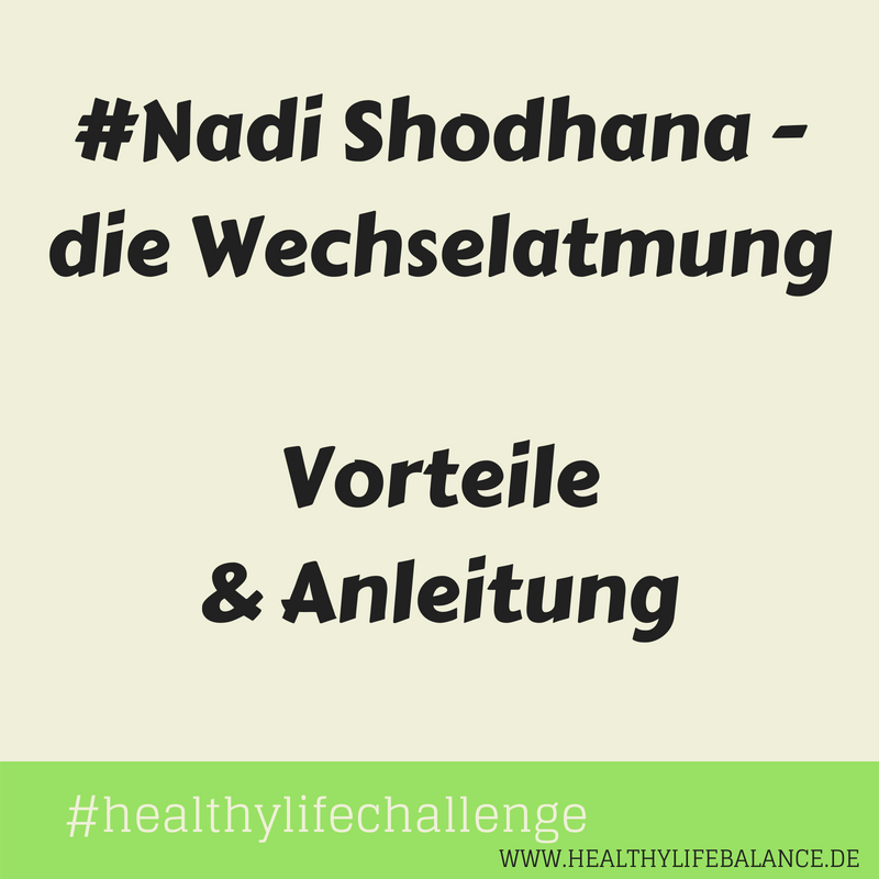 Nadi Shodhana Healthylifebalance Kriya Meditation